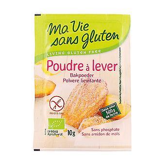Organic baking powder 10 g of powder