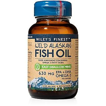 Wiley&apos&s Finest Easy Swallow Minis 630mg EPA & DHA Caps 60