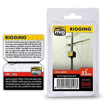 Ammo by Mig Rigging - Fine 0.03mm