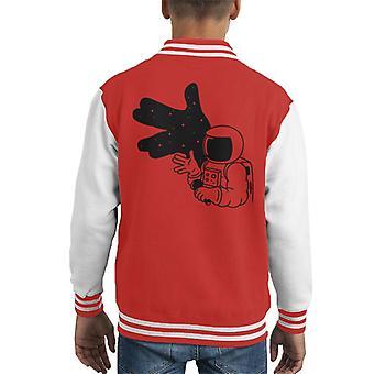 Cosmoshadow Kid's Varsity Jacket