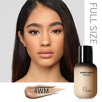 Face Foundation Makeup Liquid Cream Matte Base Concealer Cosmetic