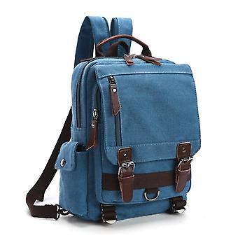 Fashion canvas outdoor travel crossbody chest bag