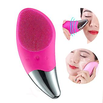 Electric Facial Cleansing Brush - Silicone Face Massager