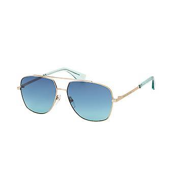 Sunglasses Men's Men's Pilot gold/blue gradient