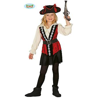 Guirca Pirate Costume for girls Buccaneer pirate kids Buccaneer Pirate Costume
