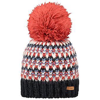 Barts Womens Melapie Pom Pom Warm Beanie Hat