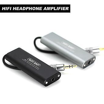 Sd05 Mini 3.5mm Headphone Earphone Amplifier Hifi Stereo Audio Amp For Cellphones