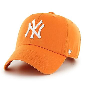 47 Brand Relaxed Fit Cap - MLB New York Yankees orange