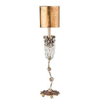 1 lys bordlampe