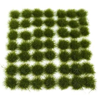 Cluster Static Grass, Tufts For Sand Table - Modelo de Arquitectura, Verde Oscuro