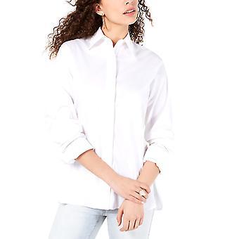 Kendall + Kylie | Katoen cutout-back shirt