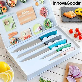 Knife Set Knices InnovaGoods 5 Pieces