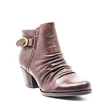 Baretraps | Reliance Synthetic Leather Block Heel Booties