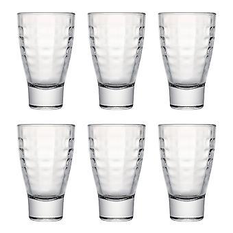 Bricks Hiball Glass, 300ml, Set of 6
