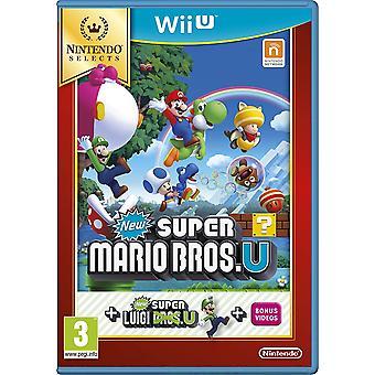 New Super Mario Bros Game + New Super Luigi Wii U Game (Selects)