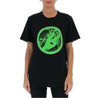 Mm6 Maison Margiela S62gd0077s23588900 Women's Zwart Katoen T-shirt