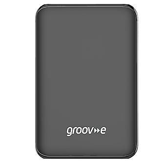 Groov-e hordozható Power Stick 5000mAh - Fekete (Model No. GVCH5000BK)