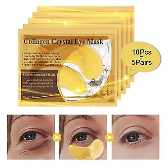 Hydratant or / algues Collagène Eye Mask Care, 60pcs Anti Aging Patches Dark