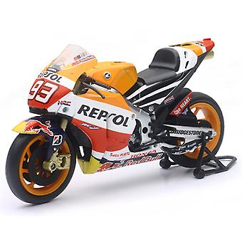 New Ray 57753 1:12 Repsol Fits Honda Team RC213V 2015 Die-Cast ATV Toy (Orange)