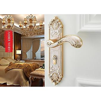 European Style Mute Room Door Lock Handle Fashion Interior Door Knobs Lock Luxurious Anti-theft