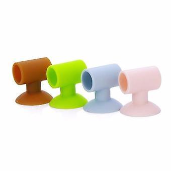 3pcs  Protectors Anti Collision Silicone Door Handle Knob Crash Pad  Door Stopper