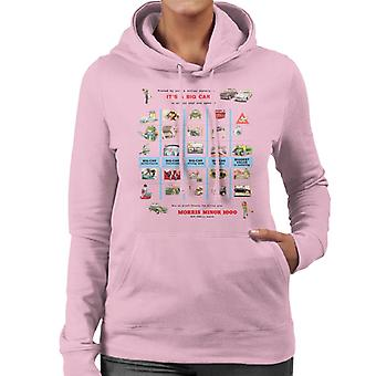 Morris Advert Design British Motor Heritage Women's Hooded Sweatshirt