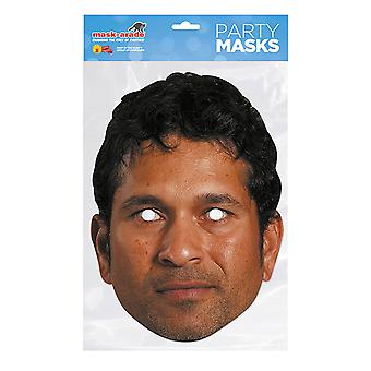 Mask-arade Sachin Tendulkar Party Mask