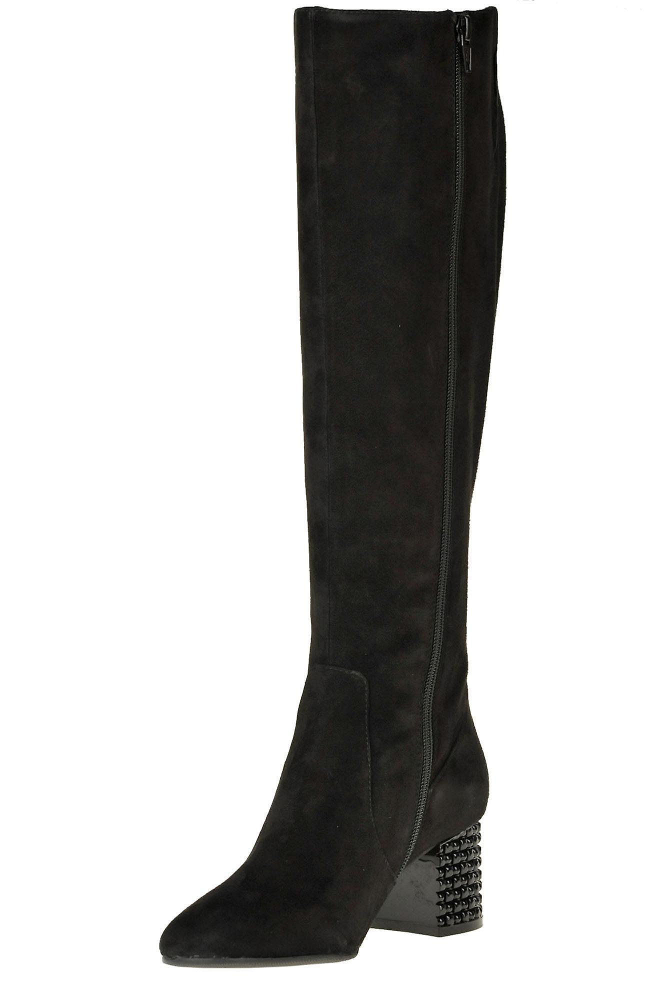 Adele Dezotti Ezgl540002 Women's Black Suede Boots