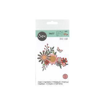 Sizzix Thinlits Die Set - 17pk Bold Flora