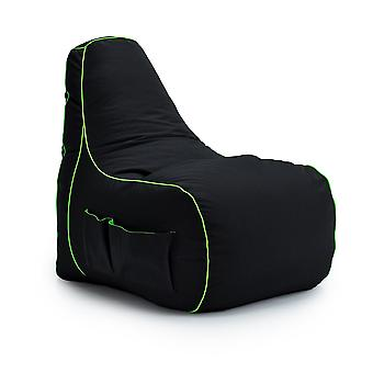 Fel Magic Loft 25 & Game Over&Apos; Gaming High Back Chair Bean Bag Large Gamer Seat Xbox PS4