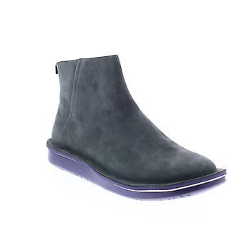 Camper Formiga Womens Gray Suede Zipper Casual Dress Boots