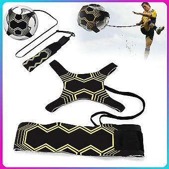 Football Kick Throw Practice Training Aid Control Adjustable Equipment Ball