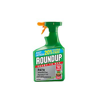 Roundup Path & Drive Concentrate 1L + 20% Free 119581