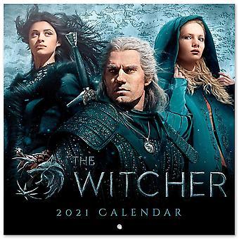 The Witcher 2021 Kalender TV Series Officiële Kalender 2021, 12 maanden, originele Engelse versie.