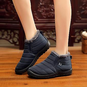 Wasserdichte Frauen Winter Schneestiefel, Anti Skid Bottom Halten Warm Mother Casual