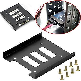 Metal Mounting Adapter Bracket Dock Screw Hard Drive Holder