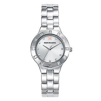 Mark maddox watch trendy silver mm7010-17