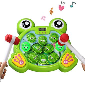 Whack A Frog Game Interactive Pounding Toy Fun Gift Idea
