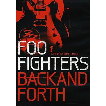 Foo Fighters - Back & Forth [DVD] USA import