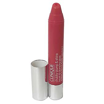 Clinique Chubby Plump and Shine Liquid Lip Pumping Gloss 3.9g Powerhouse Punch #05-Box Imperfect-