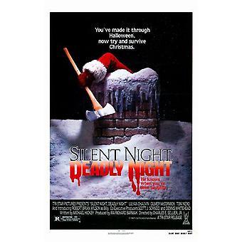 Douce nuit sanglante nuit affiche du film (11 x 17)