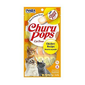Churu Pops Chicken Cat Treat None