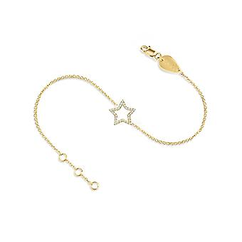 Bransoletka Hollywood Star, 18K złoto i diamenty