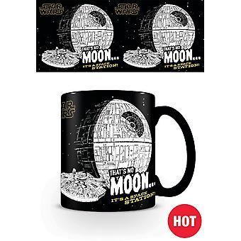 Star Wars Thats No Moon Heat Changing Mug