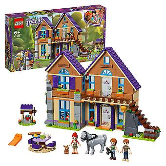 Lego 41369 friends mia's house set, 3 mini-dolls rabbit and horse figures, build and play dollhouse