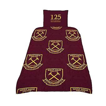 West Ham United FC 125 år Dynedække Sæt