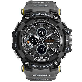 Sport Watch, Dual Time, Ceasuri barbati, Waterproof Ceas masculin, Șoc militar