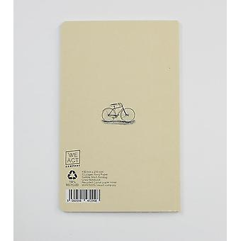 Bicycle Dictionary Art Notebook