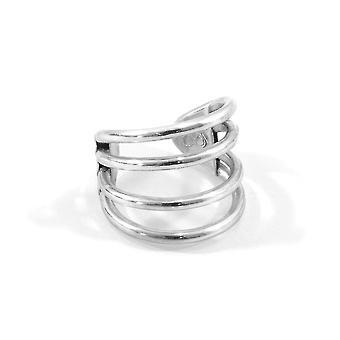 ANCHOR & CREW Bondi Surf Silber Ring