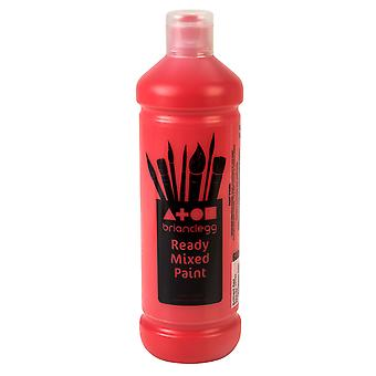 Brian Clegg Ready-mix Paint 600ml - Red